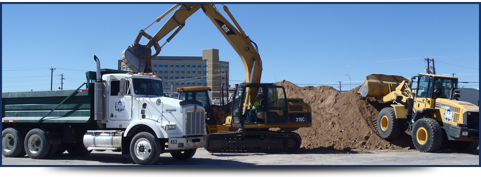 Excavation Work in El Paso, Texas